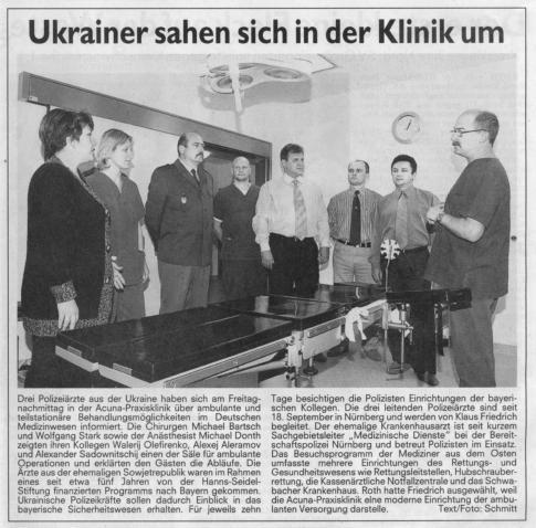 Ukrainischer Besuch